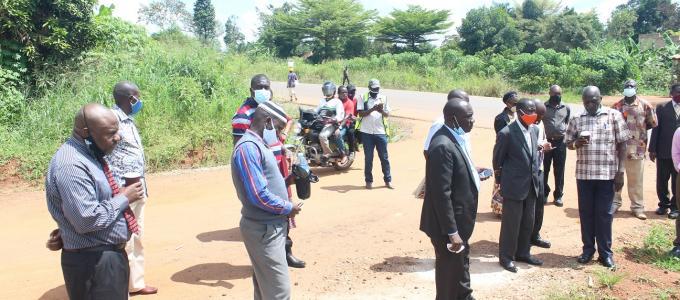 Monitoring Kigumba-Katamarwa-Apodorwa road on December 01,2020